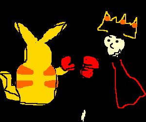 Pokemon royal rumble.