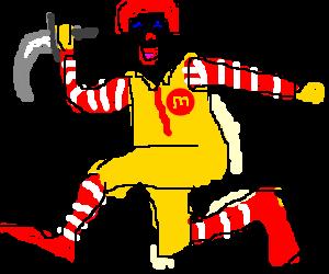 psycho Ronald McDonald