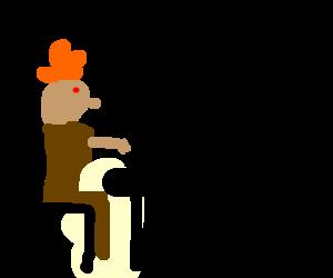 """gingerbread man had written """"Mein Kampf"""""""