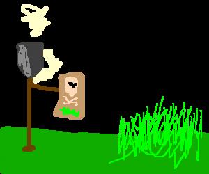 Shovel wants to use grass killer