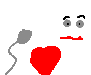 Mime falls in love with a single sperm