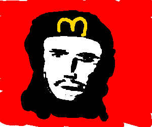 Che Guevara working for McDonalds