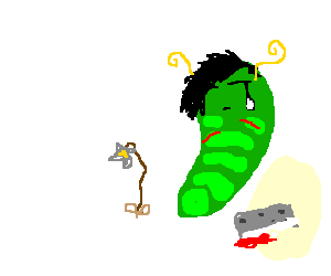"""A """"Metapod"""" closes himself off emotionally."""