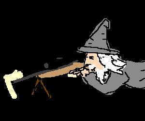 Gandalf the sniper