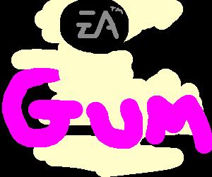 """""""EA """" Next line ' G' (doublesize) 'UM'"""