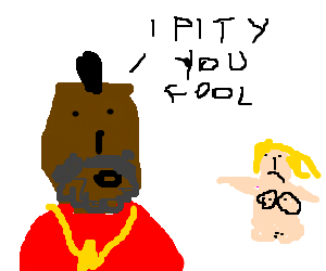 Mr.T pity a naked legless woman