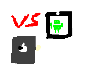 iPad fighting against Android Tab