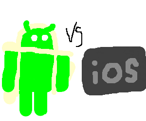 Android Vs iOs /// FIGHT !