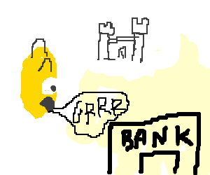 Simpsons hate bank, think of castle