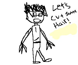 Tim Burton art style