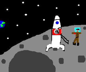 hitler conquers the moon, and a need for oxygen