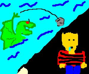 Water breathing dragon attacks tard
