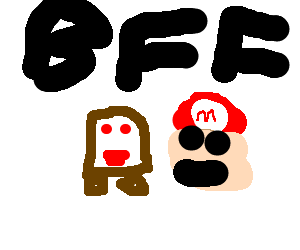 Goomba made a new friend