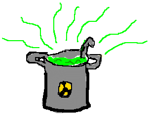 A pot of radioactive stew