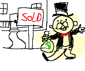 Uncle Pennybags is investing in property