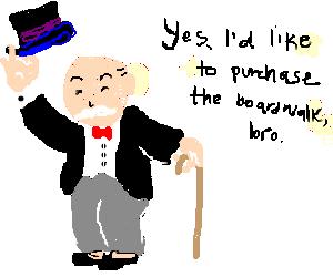 Mr. Monopoly Dude