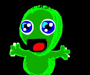 kawaii baby alien uguu