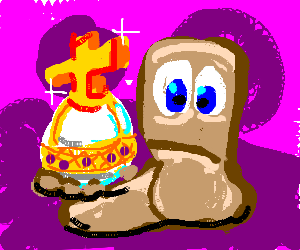 Worm with a Holy Hand Grenade