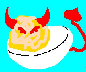Devil-salmonella
