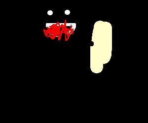 Self cannibalism.