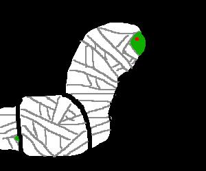 Brawny mummy-worm