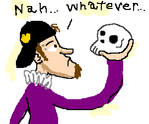 Modern day Shakespeare gives up on thought
