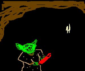 Yoda's vibrator