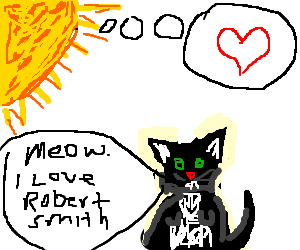 the sun loves cure kitty