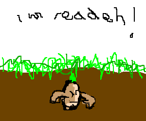 Seed prepares to burst through the soil