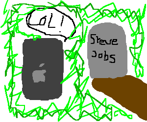 Apple mocking his creator