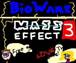 Bioware brainwashes nerds to love Mass Effect 3