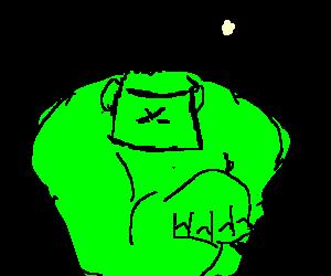 Hulk play chess