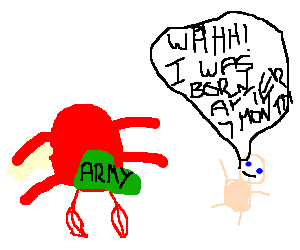 red crab guards premature baby