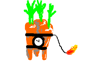 An unholy fusion of carrots and TNT