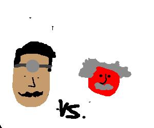 Doctor vs red genius