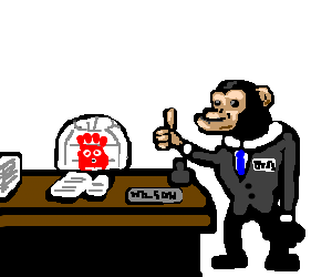 Chimpanzee boss is happy with Wilson's work