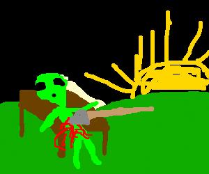 alien morning death