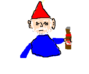 This Gnome is Wasted.