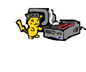 Pikachu mods PC case to include fryer