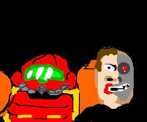 Samus marries a Terminator