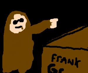 Colonel Gaddafi Boxes Frank Grimes