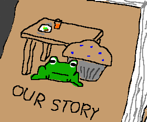 The story of a frog, a muffin, and a kitchen tbl