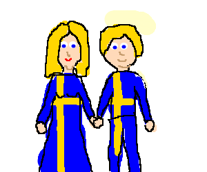 Swedish couple