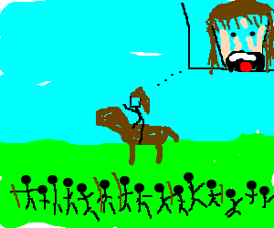 Breave Heart battle scene