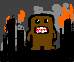 Domo-kun at the End of Days