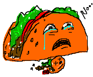 tacco crying for it's dead child tacco