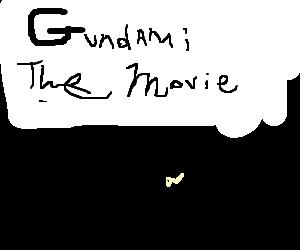 Gundam takes Zaku to the movies