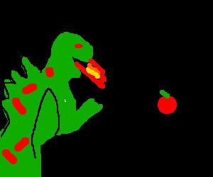 Dragon enjoys interorectogestion (look it up)
