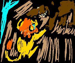 Scar betrays Mufasa