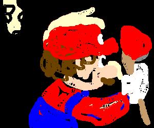 Mario goes back to plumbing